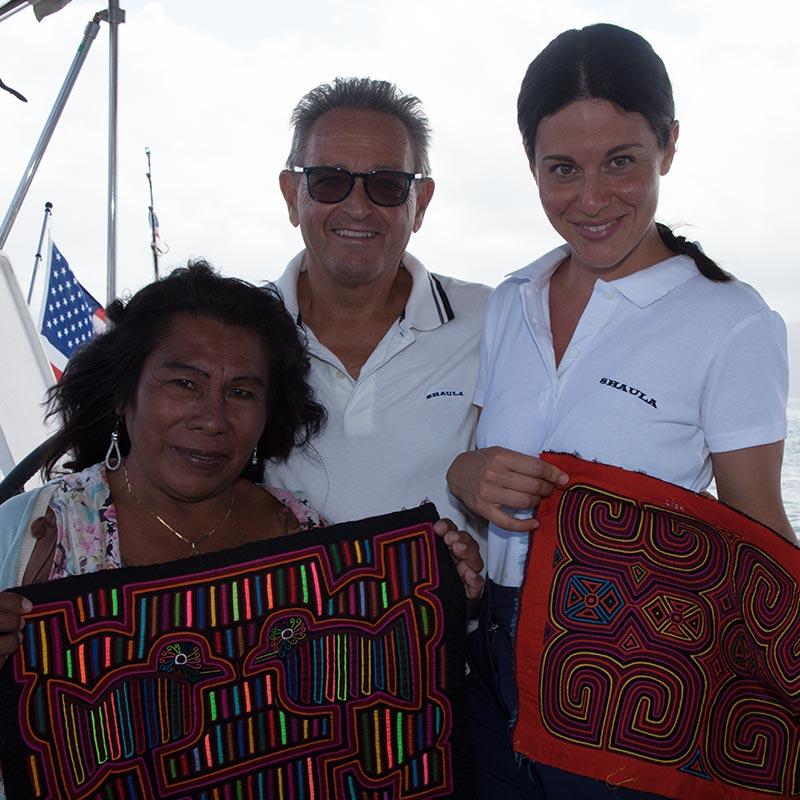 Friends Crew Shaula Yacht Luxury Sailing Yacht Charter in San Blas