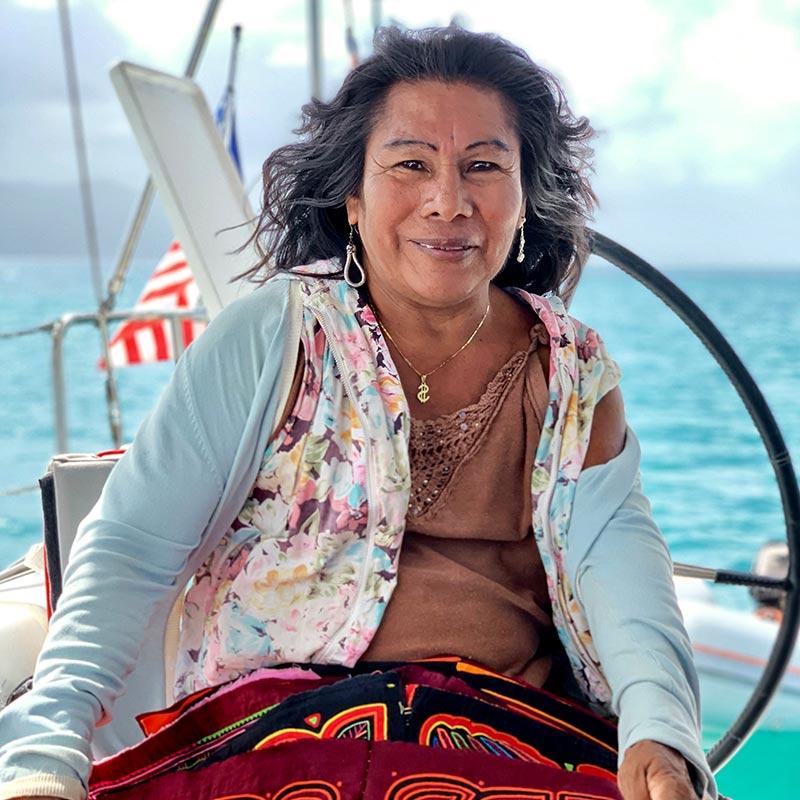San Blas People Shaula Yacht Luxury Sailing Yacht Charter in San Blas