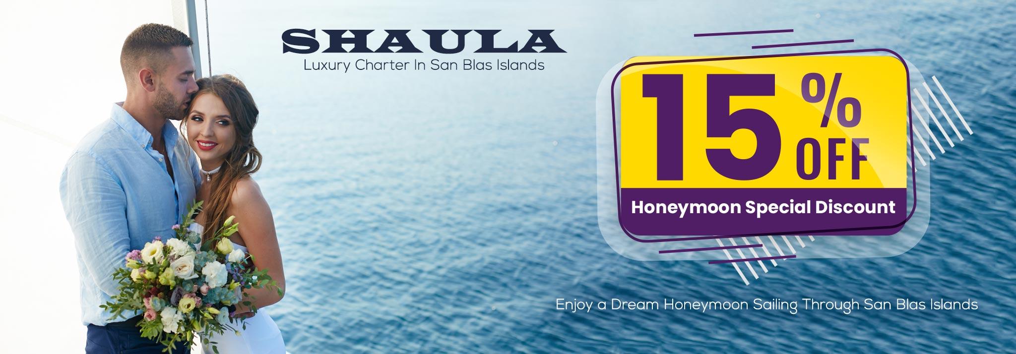 Honeymoon Special Discount Shaula Luxury Charter In San Blas Islands