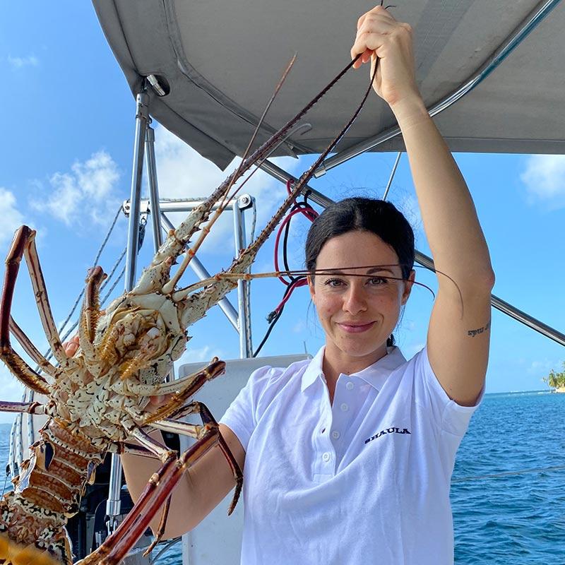 Menu OnBoard Shaula Yacht Luxury Sailing Yacht Charter in San Blas Silvia Latini Stewardess/Cook