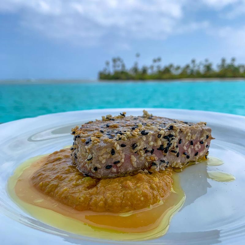 Fresh Food, Menu OnBoard Shaula Yacht Luxury Sailing Yacht Charter in San Blas